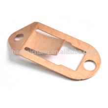 Pièces d'acier inoxydable de tôle de précision shrapnel de cuivre