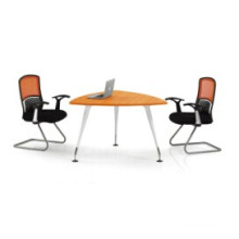 Top Wood Panel Triangle Office Meeting/Netogiating Table (FOH-QH12-A)