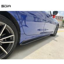 2019 Universal Auto Carbon Faser Seitenschürzenverlängerungen