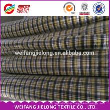 Hilo de algodón 100% teñido de tela de rayas a rayas 100% Hilado de algodón teñido de tela de camisas por mayor