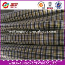 100% fio de algodão tingido tecido listrado camisas 100% fio de algodão tingido tecido listrado camisas