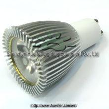 3x2w 6w LED GU10 диммируемый светодиодный прожектор