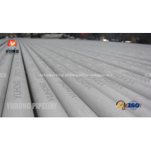 Tubo sem emenda de aço inoxidável de ASME SA213 TP304