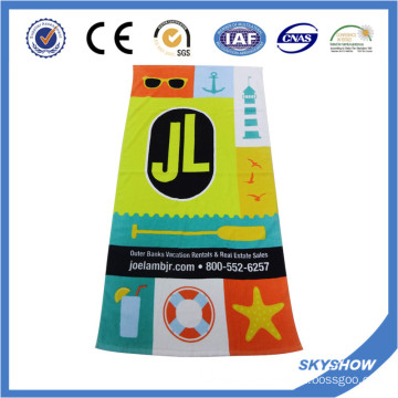 Customed Printed Cotton Towel (SST0562)
