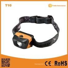 T10 3 Niveaux de luminosité 1W Ipx4 réflecteur étanche Éclairage LED haute puissance
