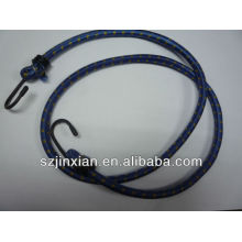 hot colorful leather ,fiber optic patch, bungee cord