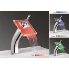 LED vòi, kính LED thác nước lưu vực trộn