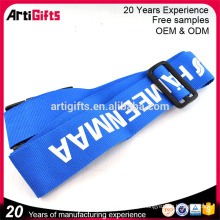 Boa qualidade supremo heavy duty poliéster fio de segurança impressão design personalizado seu próprio cordão sem mínimo