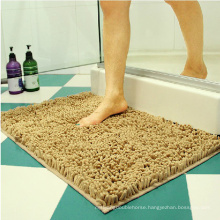 Home machine washable carpet rug chenille bath mat