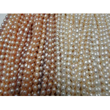 9-10mm Rice Pearl Strands (ES395)