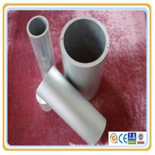 6061 (N20 / H20) 6063 (HT9) 6101A (E91E) 6262 Aluminiumlegierung eloxierte Mühle fertig sandgestrahlt Rohr / Rohr