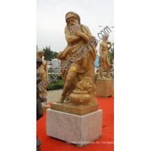 Jardín de piedra tallado esculturas de mármol para decoración al aire libre (SY-X1643)