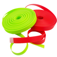 Colorful Waterproof Plastic Coated Webbing Strap for Dog Collar Materials
