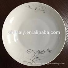 chinesische Platte der hohen Qualität für Nahrung und Frucht
