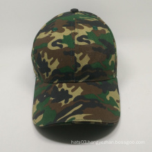custom camo baseball cap with LED light for wholesale