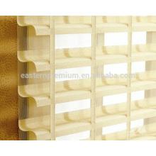 apuesto triple ventana interior decoración shangri-la persianas