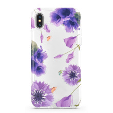 Rose Flower Smart Shockproof Cover for iPhone X
