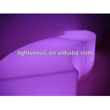 Sofá LED seccional torcido