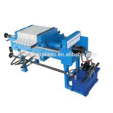 Equipo de separación de líquidos sólidos - Prensa manual de filtros peine pequeña