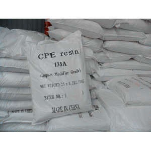 Factory Cheap price for Polyethylene Resins CPE Resin 135A  Impact Modifier supply to Afghanistan Supplier