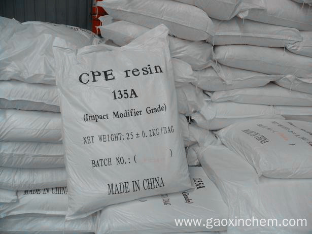 CPE Resin 135 CPE Used In PVC Plastic Profile