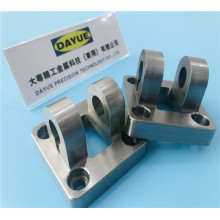 Stainless steel anodized aluminum brass cnc milling part