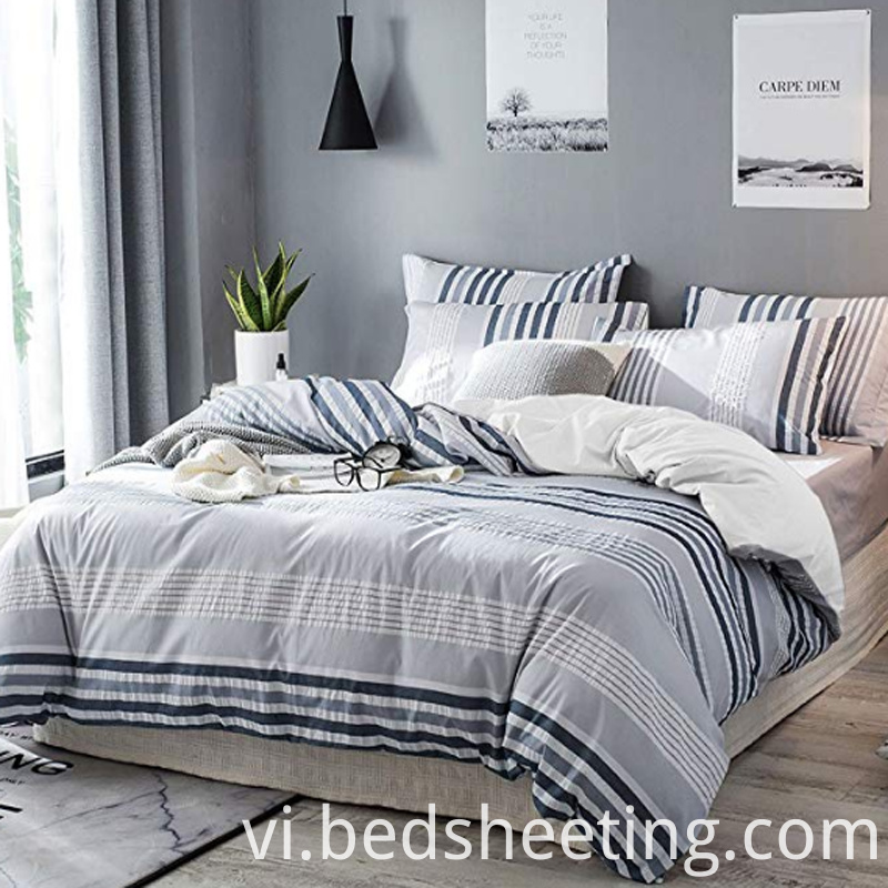 Cotton Yarn Dyed Stripe Duvet Cover