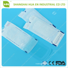 Self-sealing sterilization flat pouches