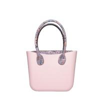 Women stylish stand up EVA plastic beach handbags