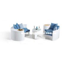 Новый дизайн наружной плетеной мебели софа Bp-873e