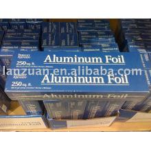 rouleau de papier d'aluminium