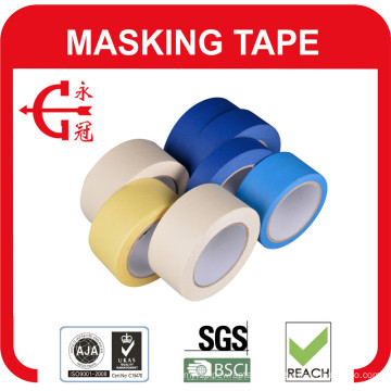 Good Strength Yellow Masking Tape