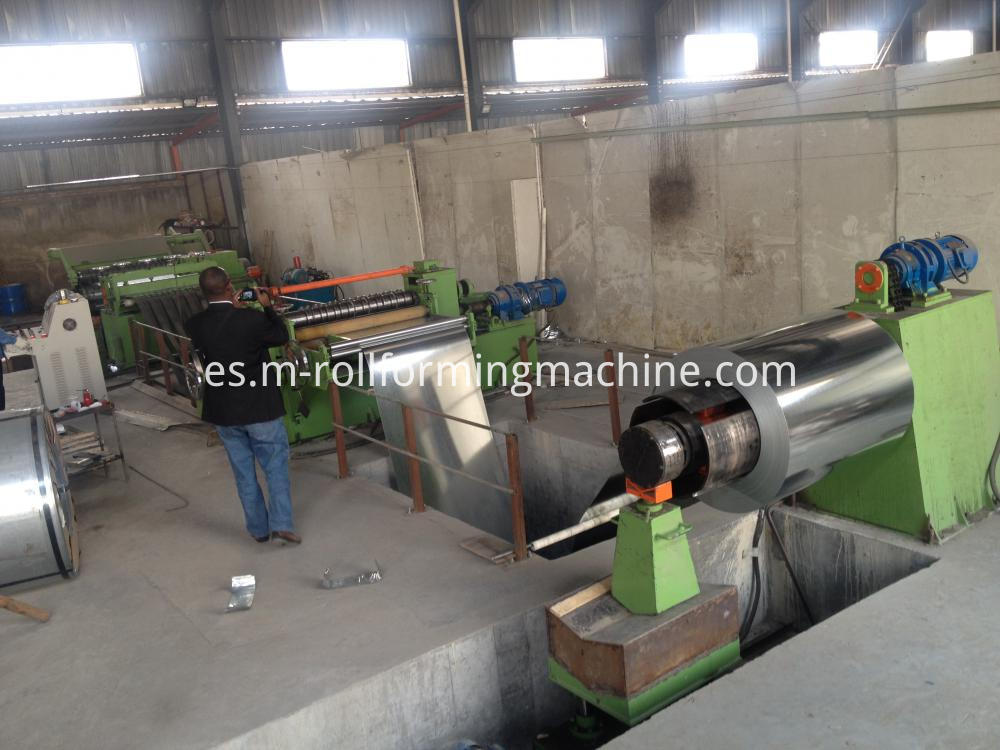 High speed automatic 3x1600 mm roll slitting machines