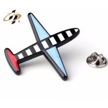 insignia hecha a medida del perno del aeroplano del metal personalizado