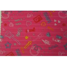 Tissu d'impression de polyester de 300d PVC