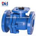 Descrição Dimensão encadeada Stockist Din3357 Manual Gg25 Válvula de esfera tipo flange Fabricante