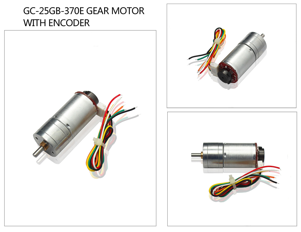 gear motor with encoder