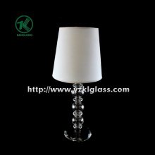 Single Glass Candle Holder with Lamp (9*27.5)
