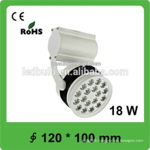 Factory 18W indoor track led light, led track light