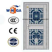 Hochwertige Sicherheit Edelstahl außen mit Tür (W-GH-16)