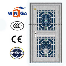 Puerta de acero inoxidable de la seguridad de la alta calidad usando (W-GH-16)