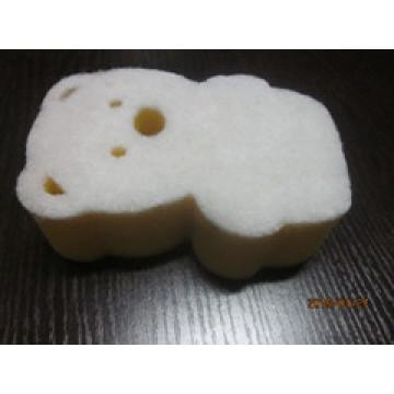 Éponge en forme d'ours
