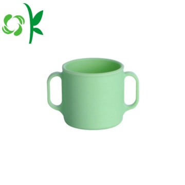 Luva de copo de caneca cerâmica resistente ao calor com logotipo personalizado