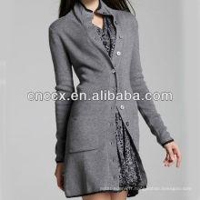 13STC5393 long maxi cardigan femmes