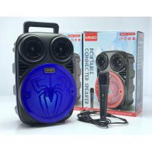 KMS-3396 Speaker Outdoor Portable Trolley Speaker DJ Speaker System Subwoofer Sound Box With LED Light
