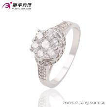 Новое Прибытие мода CZ Алмазный женщин ювелирные изделия палец кольцо в Родием Цвет - 13639