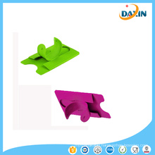 Silicone Stand Stick on Credit/Debit Card Slot Holder for Various Phones