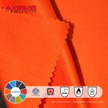 Tissu 100% ignifuge de denim ignifuge de coton en gros pour des pantalons / pantalons