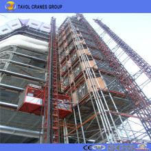 Sc200/200 2ton Double Cage Construction Building Hoist