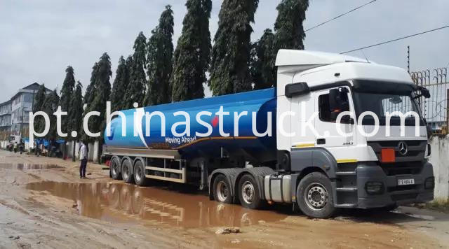 BENZ Premier mover with 40,000 liters fuel tanker